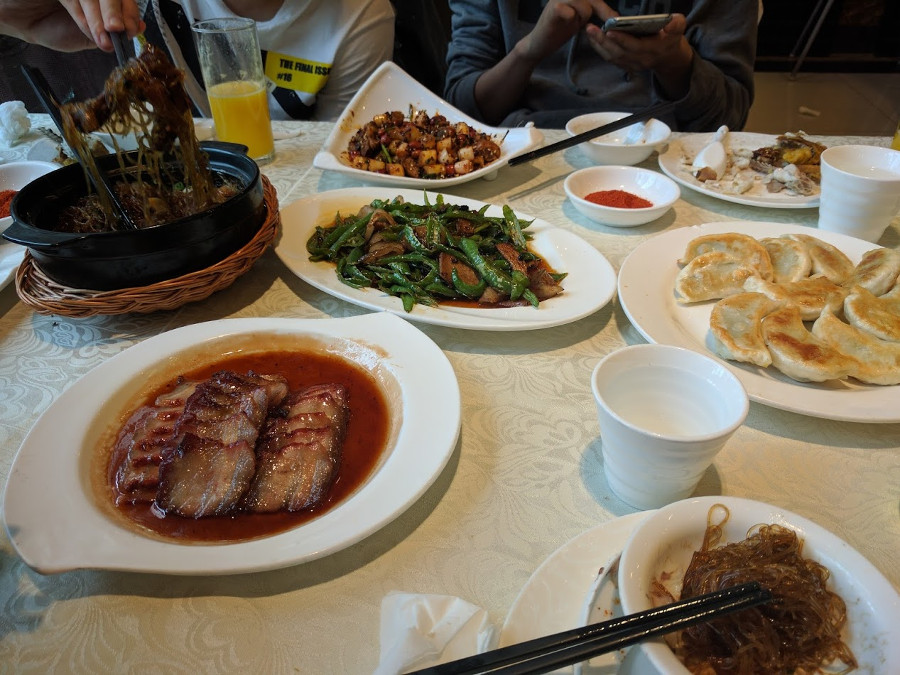 Repas Chengdu