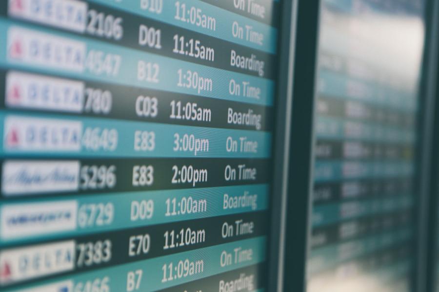 Horaires de vols
