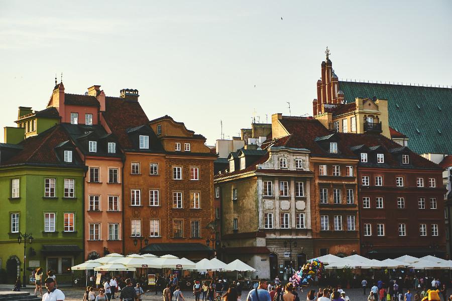 Varsovie en Pologne