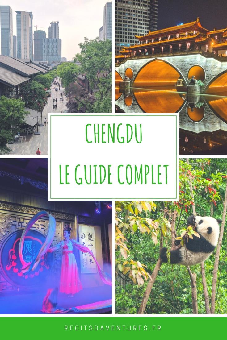 Chengdu le guide complet