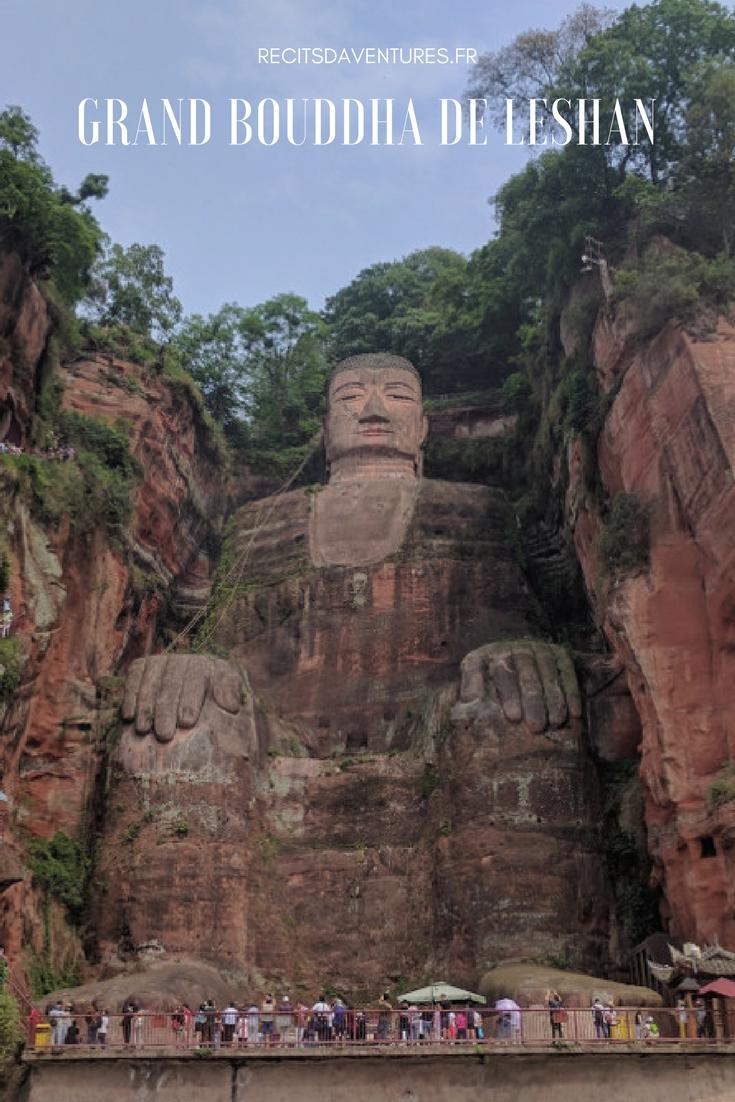 Grand Bouddha de Leshan, dans le Sichuan, en Chine