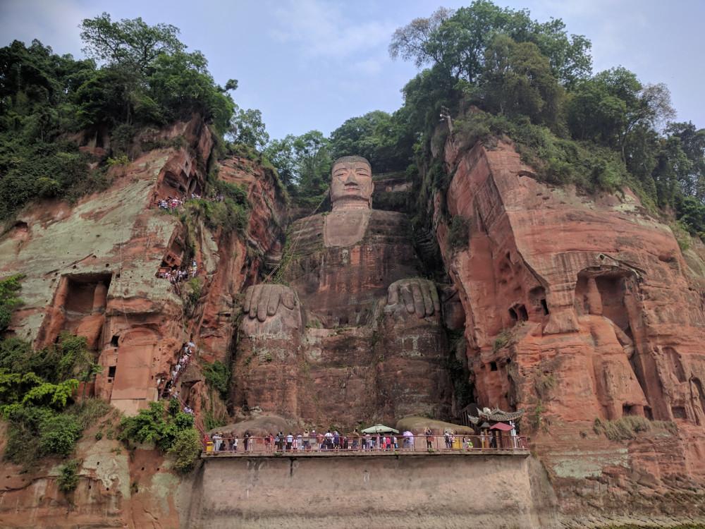 Statue du Grand Bouddha de Leshan