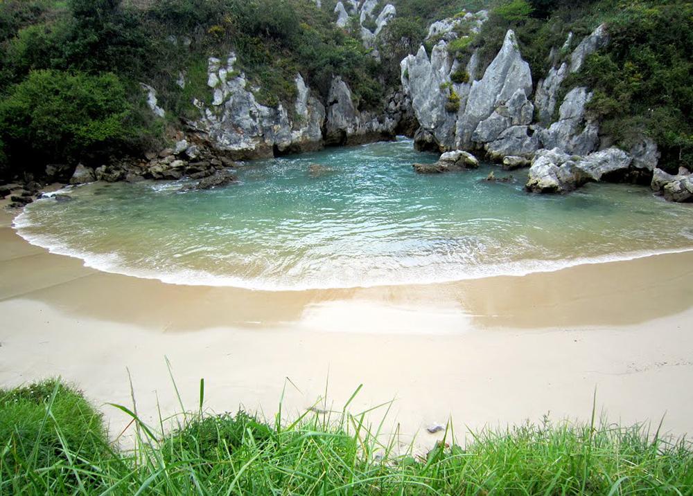Gulpiyuri en Asturies | Espagne