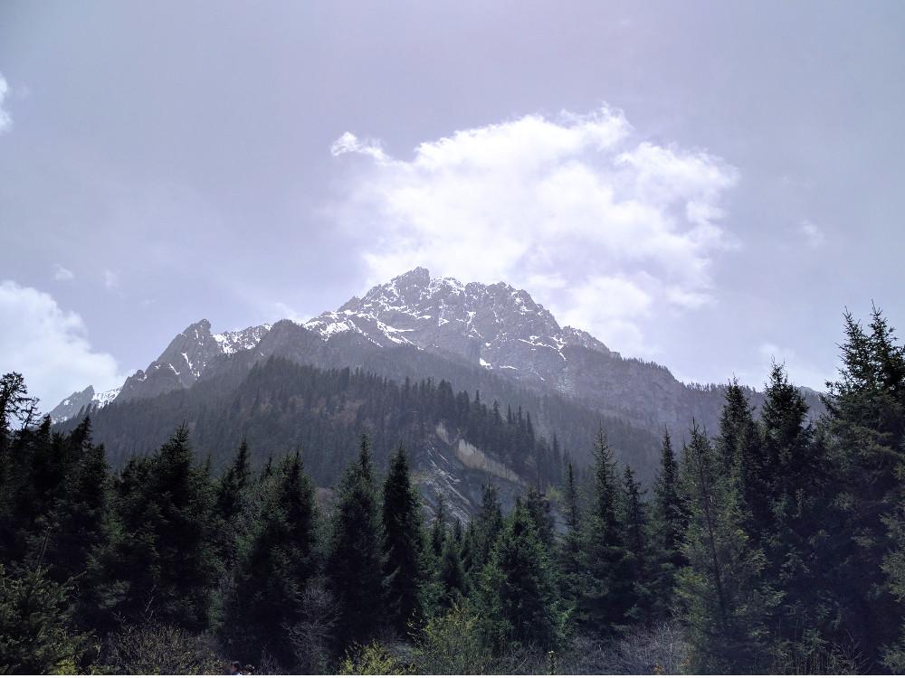 Sommet de la Vallée de Jiuzhaigou, dans le Sichuan | Chine