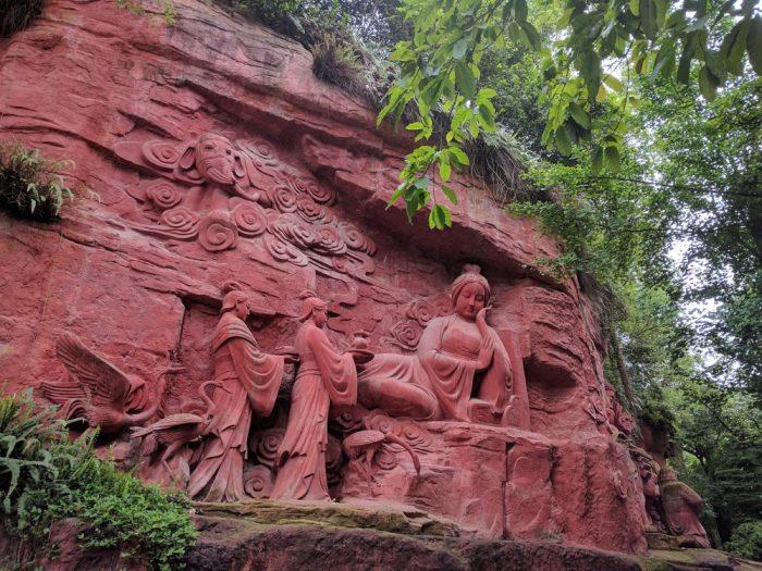 Emeishan statue Bouddhiste | Chine