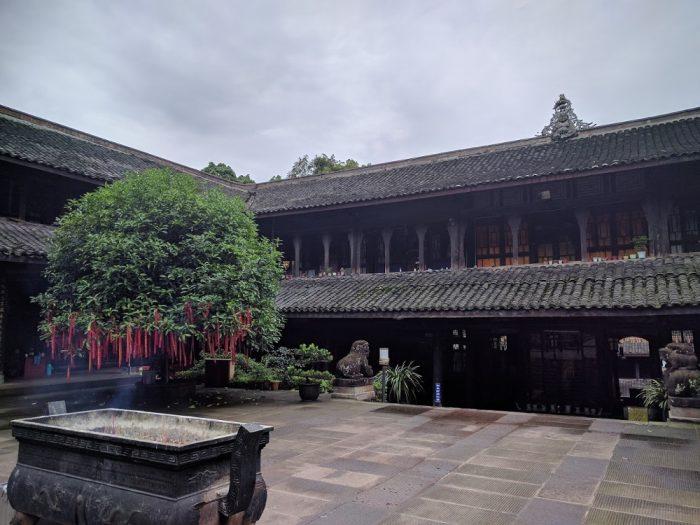 Fuhu Temple à Emeishan | Chine