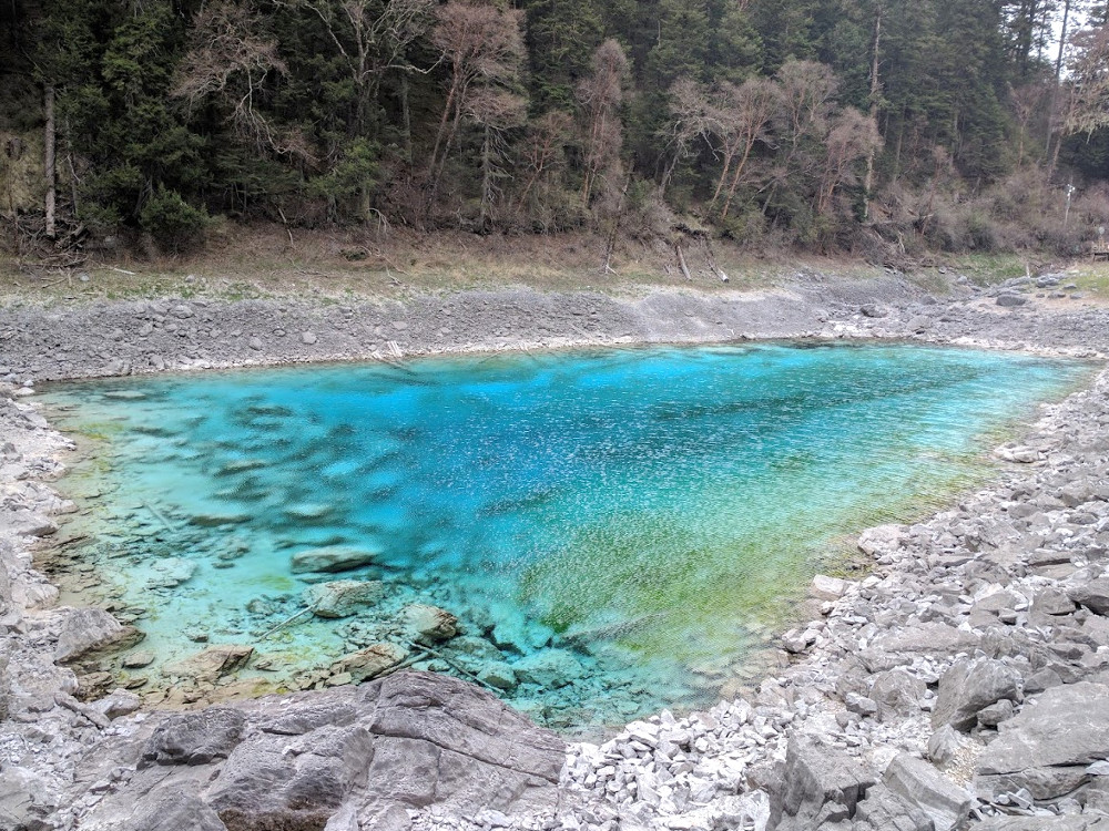 Lac de la Vallée de Jiuzhaigou, dans le Sichuan | Chine