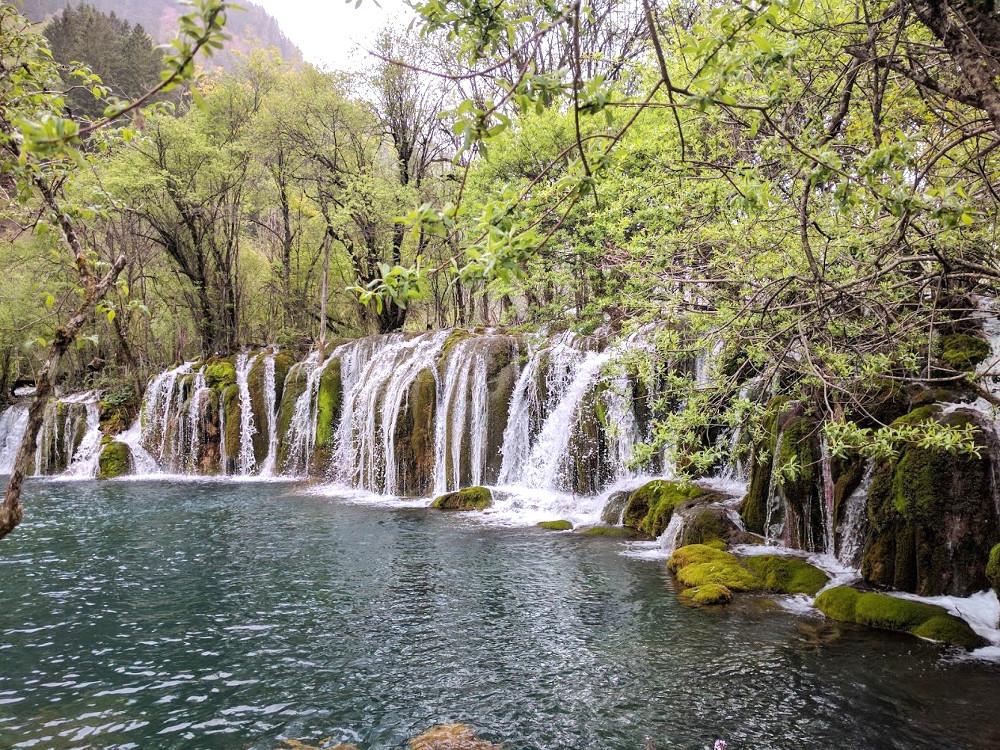 Cascade de la Vallée de Jiuzhaigou, dans le Sichuan | Chine