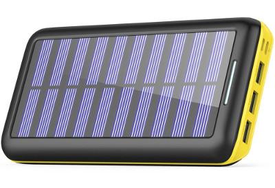Batterie solaire - idée cadeau voyageur