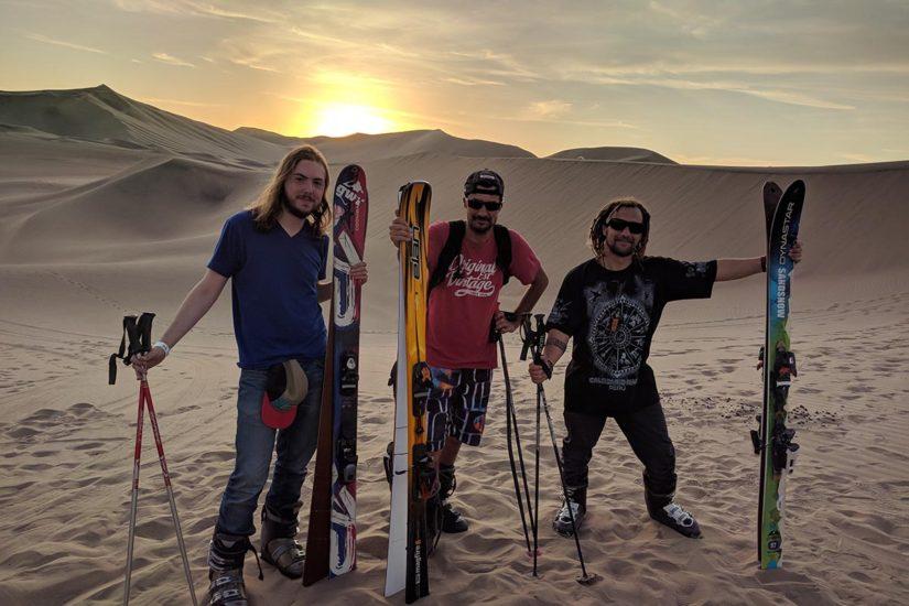 Ski dans le désert de Huacachina | Pérou