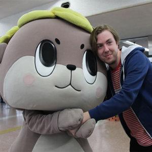 Shinjokun, mascotte de Susaki | Japon