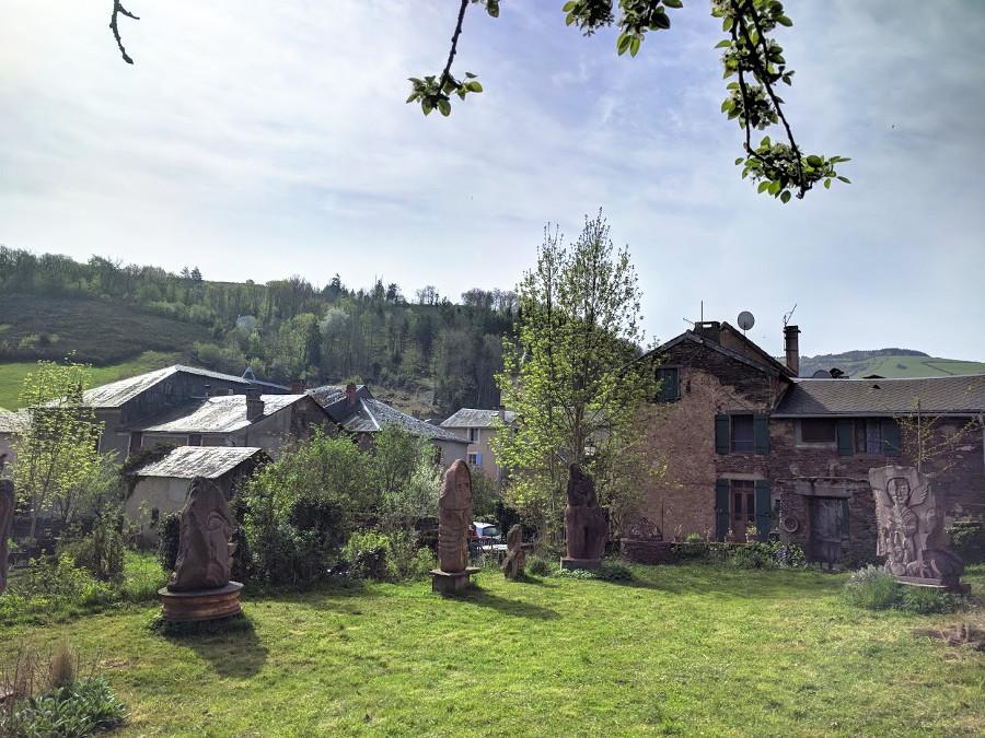 Jardin des Sculptures à Saint-Sever-du-Moustier | Aveyron