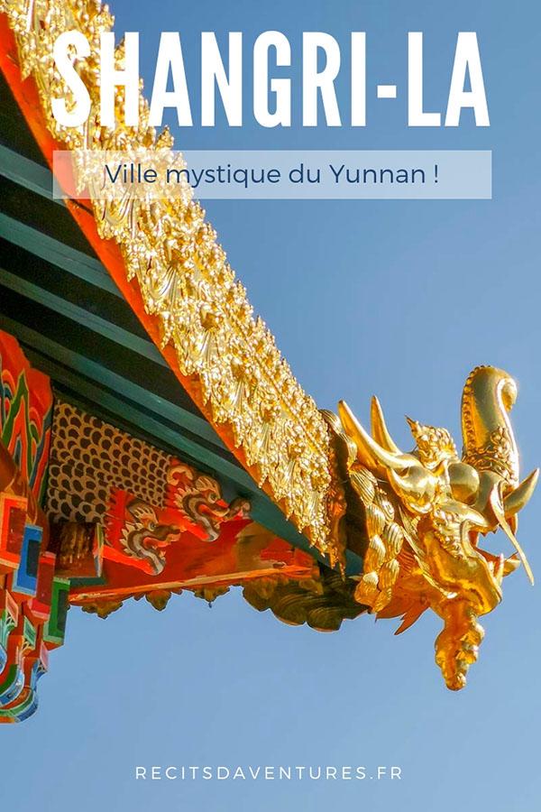 Guide sur la ville de Shangri-La, dans le Yunnan en Chine.
