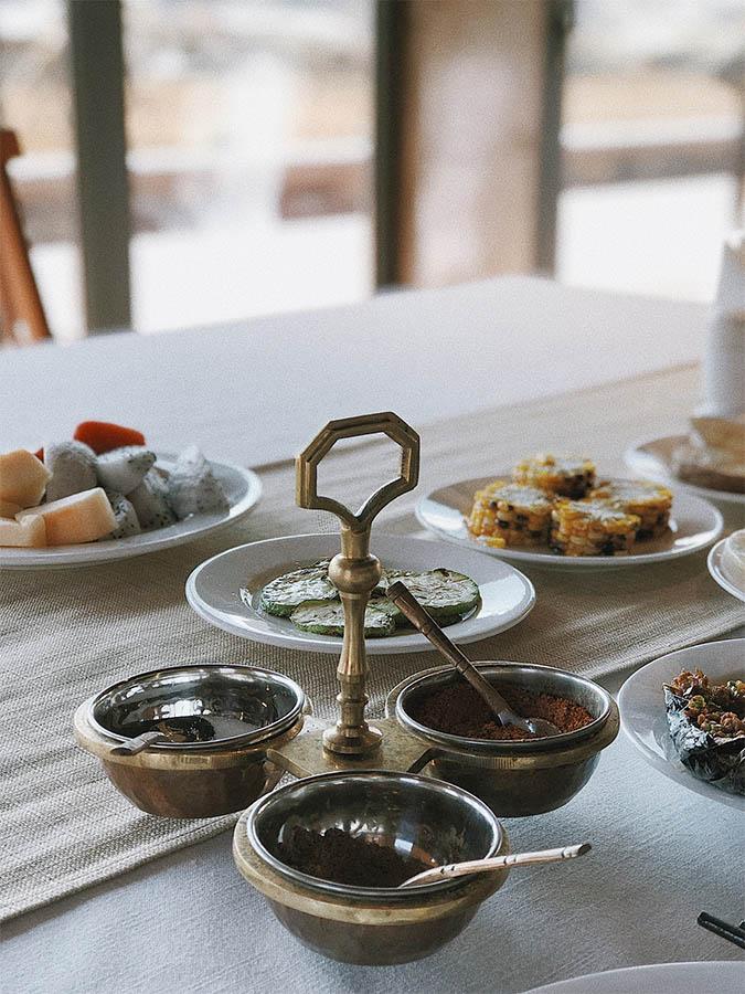 Repas à l'hôtel Songtsam à Shangri-La | Chine