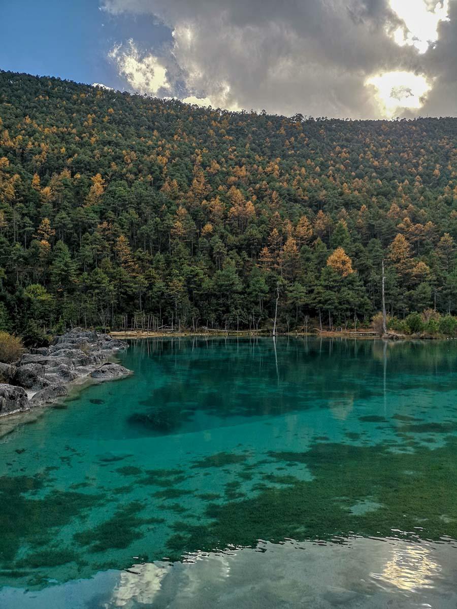 Lac de la Montagne du Dragon de Jade près de Lijiang | Chine