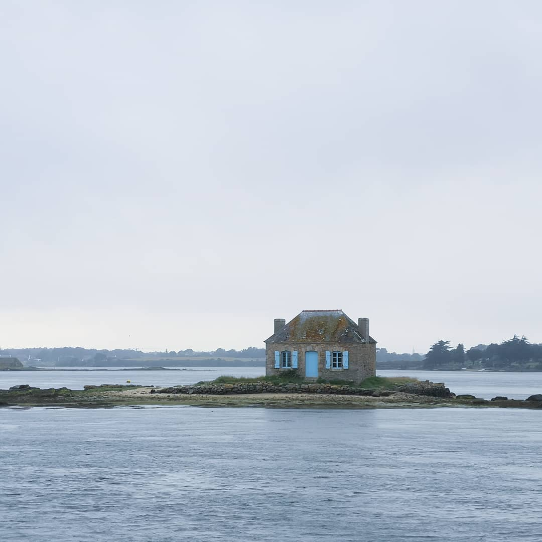 Île de Saint Cado en Bretagne