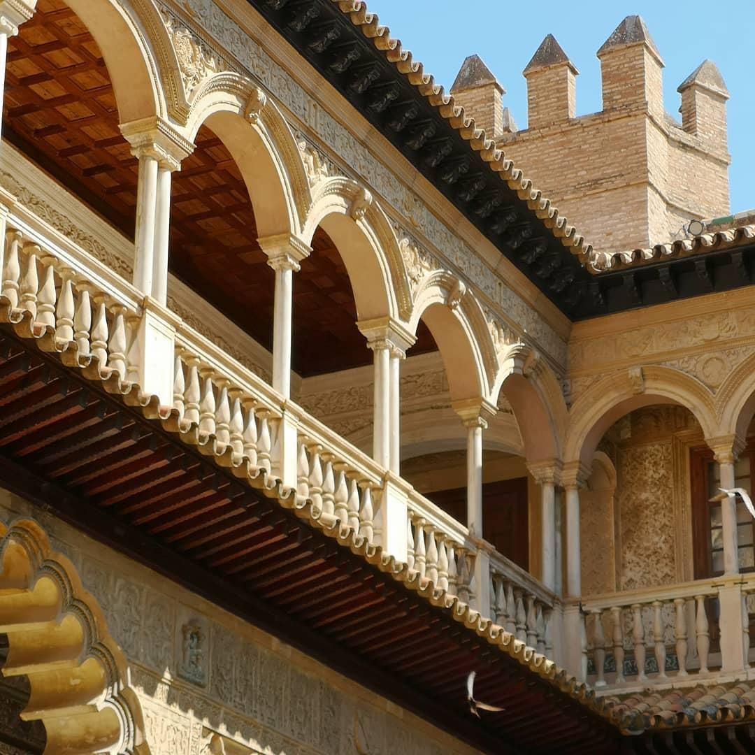 L'Alcazar de Séville en Andalousie | Espagne