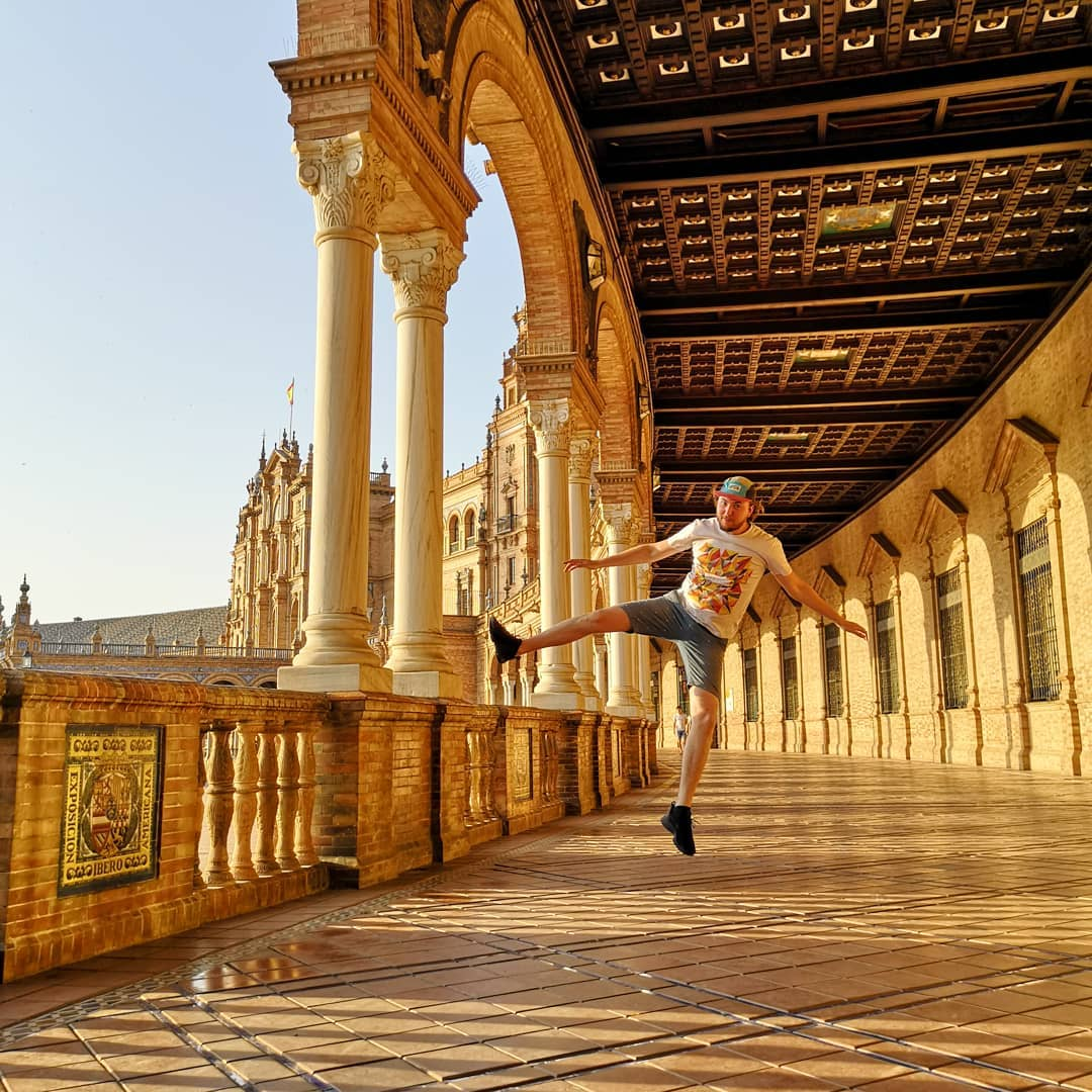 La Plaza de Espana de Séville en Andalousie | Espagne