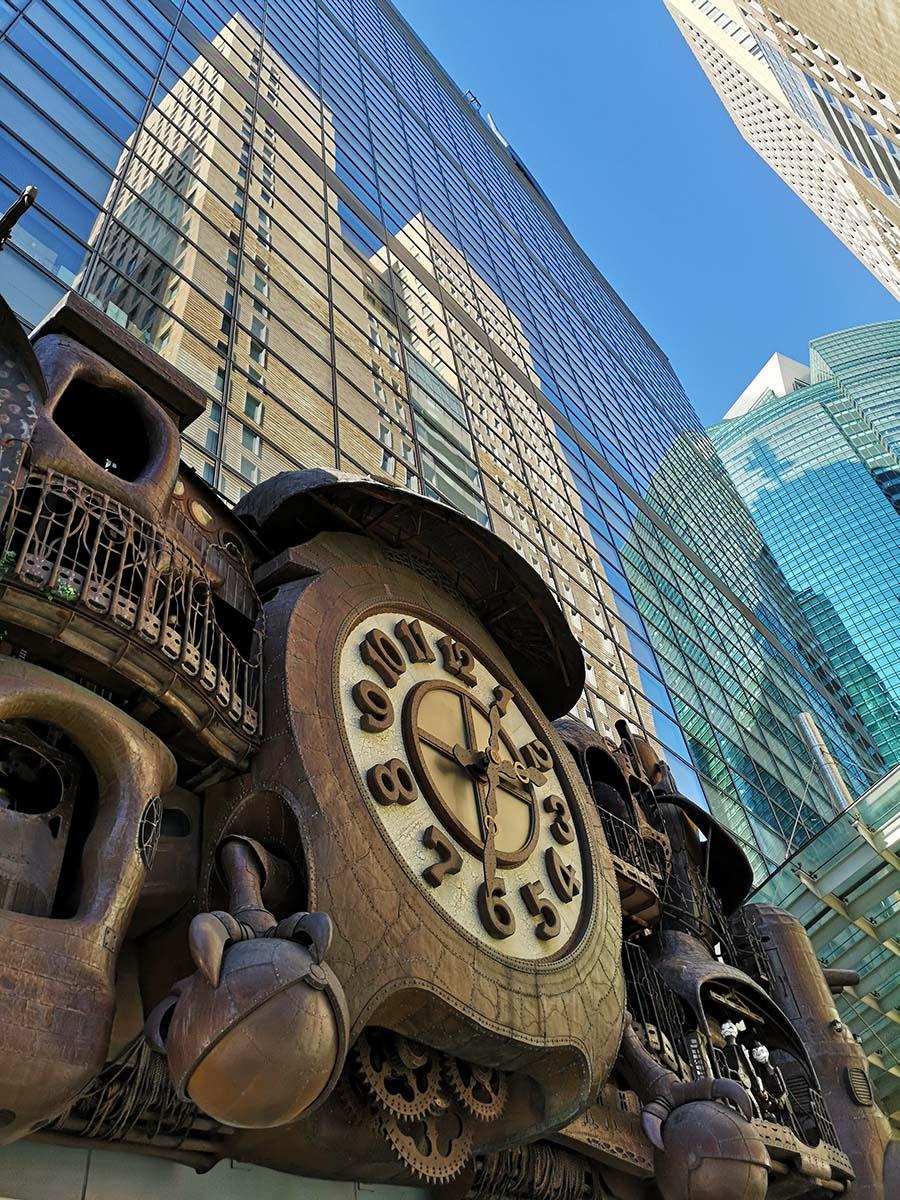 Giant Ghibli Clock - Tokyo