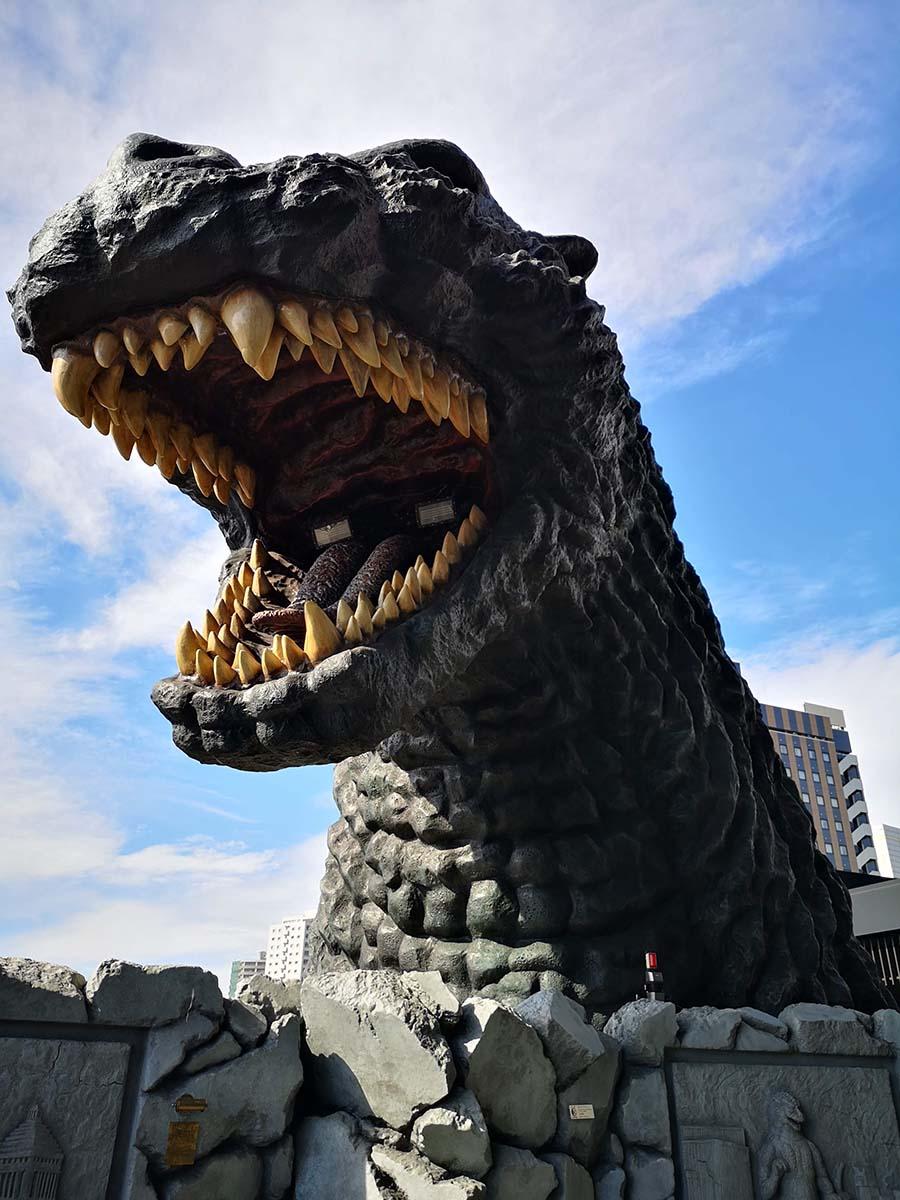 Godzilla Head Shinjuku à Tokyo | Japon | Japon