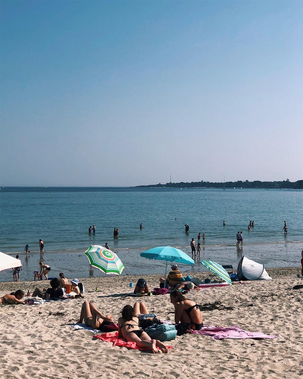 La plage du Cap Coz à Fouesnant | Bretagne
